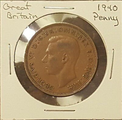 1940 Great Britain Penny - King George VI