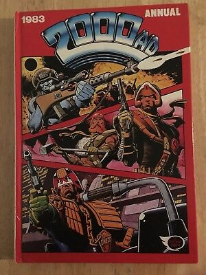 2000 AD Annual 1983 - Judge Dredd, Rogue Trooper...USED BUT EXCELLENT CONDITION
