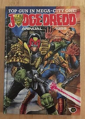Judge Dredd Annual 1989 Used But Very Good Condition