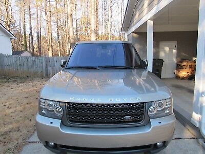 2011 Land Rover Range Rover LUX 2011 Land Rover Range Rover HSE LUX