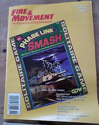 Fire and Movement magazines 1993