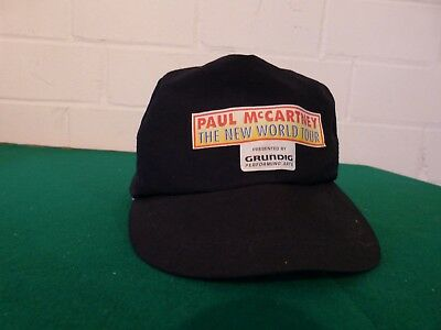 "Kappe - Paul McCartney - "" The New World Tour"" - 1993 - Grundig Performing Arts"