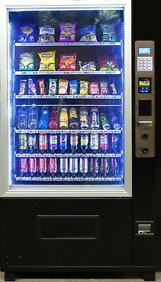 X-Large (Deli 5) Combination Snack and Drink Vending Machine for sale