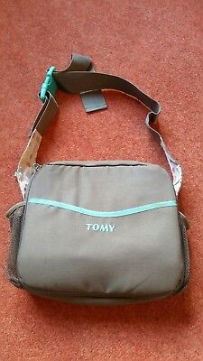 Tomy toddler kids 3 grey travel booster seat