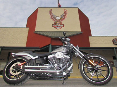 2014 Harley-Davidson Softail SOFTAIL BREAKOUT 2014 HARLEY-DAVIDSON BREAKOUT FXSB HARD CANDY CHROME PIPES SPEAKERS UPGRADES