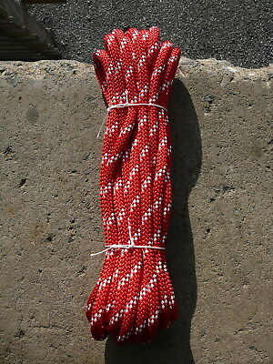 """New England Static Line Low Stretch Rope Climbing, Rappel, Tag Line 1/2"""" x 37'"""