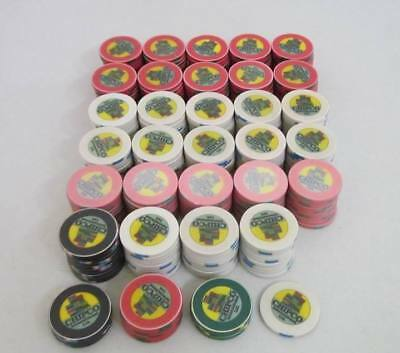 Lot Of 305 Vintage Chipco International Ltd. Casino / Poker Chips ~ 305 Chips !!