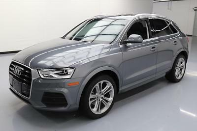 2017 Audi Q3 Premium Plus Sport Utility 4-Door 2017 AUDI Q3 QUATTRO PREM PLUS AWD TECH PANO NAV 2K MI #006827 Texas Direct Auto
