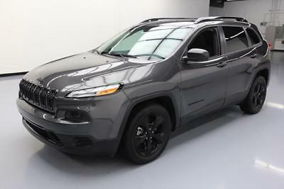 2017 Jeep Cherokee Sport Sport Utility 4-Door 2017 JEEP CHEROKEE SPORT ALTITUDE 2.4L BLUETOOTH 9K MI #641528 Texas Direct Auto