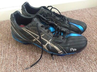 Football Boots Asics Size US 10.5 Footy Soccer