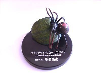 Yujin Takara Kaiyodo Tomy Black Widow Spider Mini Figure