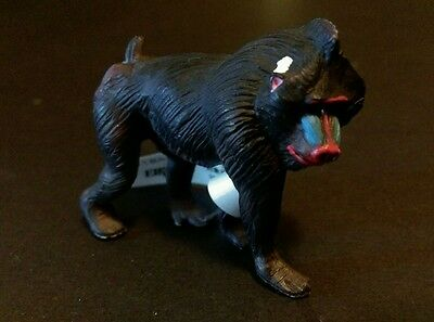 Eikoh Miniature Planet (like Kaiyodo) African Mandrill Baboon Monkey PVC Figure