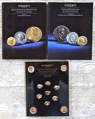 Greek & Roman Coins Zurich Coins & Medals NY Sothebys Auction Catalogs 1993