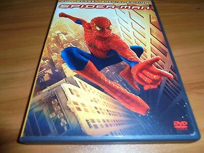 Spider-Man (DVD, 2002 2-Disc  Full Frame) Tobey Maguire Used Spiderman