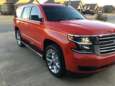 2017 Chevrolet Tahoe  uper Rare Victory Red Tahoe