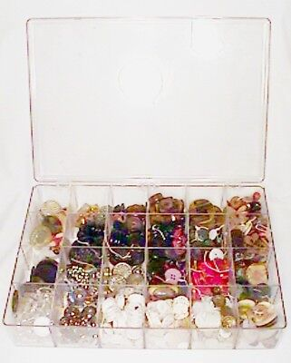 Great Old Antique Vintage Button Collection 500 Buttons 4+ Lbs. Steel Celluloid+