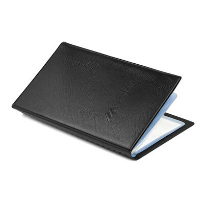 120 Business Credit Card Holder Case Book Wallet Leather Cover Pouch Folder