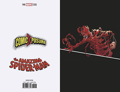 AMAZING SPIDERMAN 795 2nd PRINT COMICXPOSURE VIRGIN VARIANT GOBLIN NM
