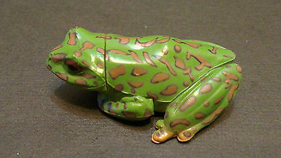 RARE Kaiyodo Takara Choco Q Part 4 Forest Green Tree Frog Toad Figure