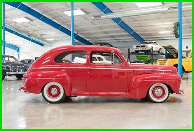 1946 Ford Coupe  1946 Ford Super Deluxe Tudor Sedan 350 V8 Automatic Air/Heat Steel Body 46