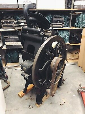 Vintage R.Collie & Co. Printing Press *Working Condition*