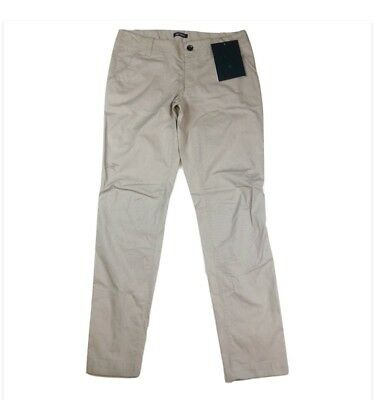 Arc'teryx Women's Camden Chino Pants Bone Color Hiking Outdoor Size 8 Tall NWT