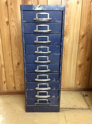 Vintage ❤️ Steel Filing Cabinet ❤️ Quirky And Practical
