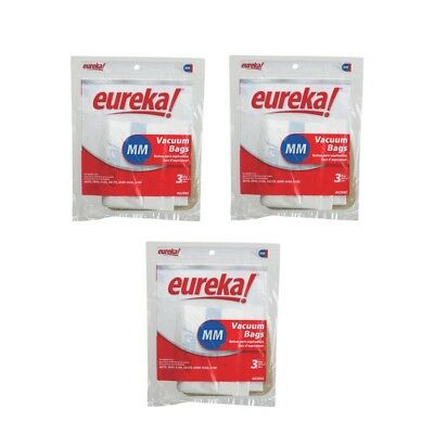 9 Eureka 60295, 60295C Style Mighty Mite 3, Canister Vac Paper Bags Genuine