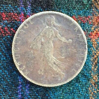 France 50 Centimes 1912 - Silver