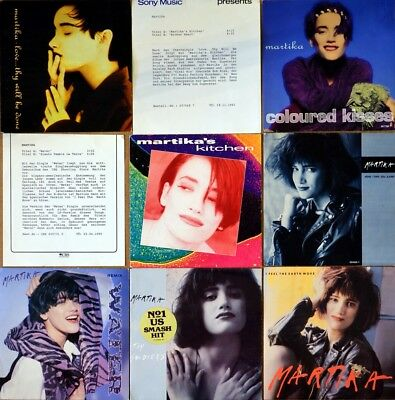 7x MARTIKA Kitchen / Toy Soldier / Water / Coloured Kisses / More Than You Know