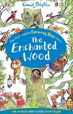 THE ENCHANTED WOOD - Paperback Book - Enid Blyton Collection