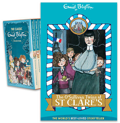 THE O'SULLIVAN TWINS AT ST CLARE'S - Paperback Book - Enid Blyton Collection