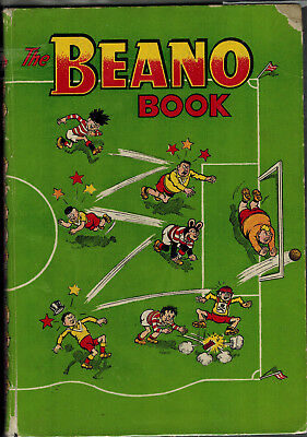 THE BEANO BOOK 1957 vintage comic annual - GOOD!