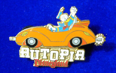 Disney pin - Disneyland - Autopia Donald