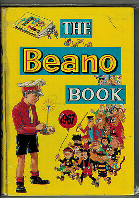 THE BEANO BOOK 1967 vintage comic annual - G+