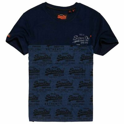 98607243 Superdry M10006PQ NH6 Premium Goods Duo Tee Vintage T Shirt Frontier Teal