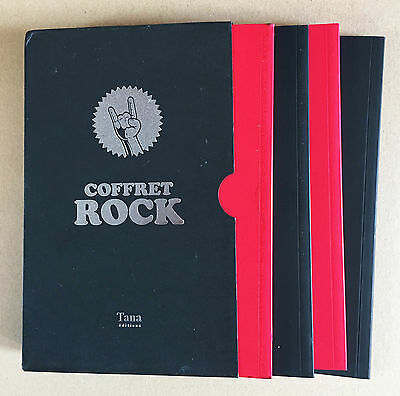 Coffret Rock - Collectif 4 Volumes - Tana Editions - Neuf