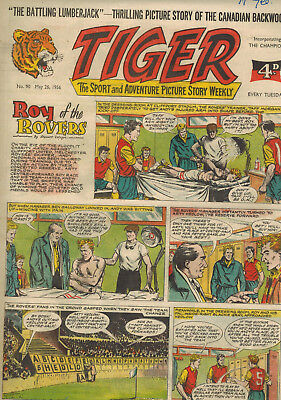 TIGER COMIC No. 90 from 1956