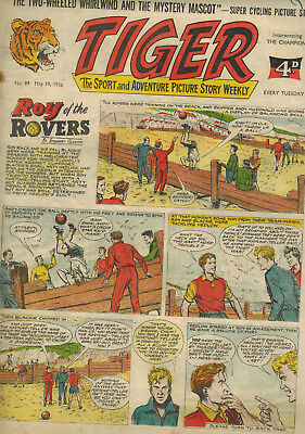 TIGER COMIC No. 89 from 1956
