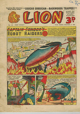LION COMIC No. 146 from 1954