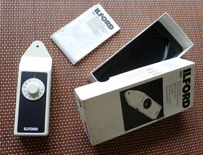 Boxed Ilford Em10 Exposure Meter With Instructions