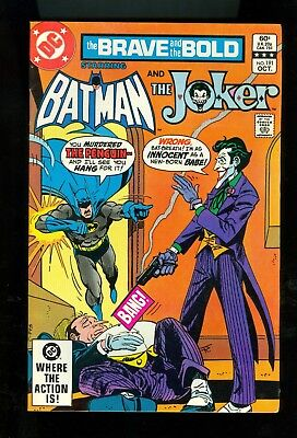 BRAVE AND THE BOLD #191 -- October 1982 -- JOKER Cover -- VF+ Or Better