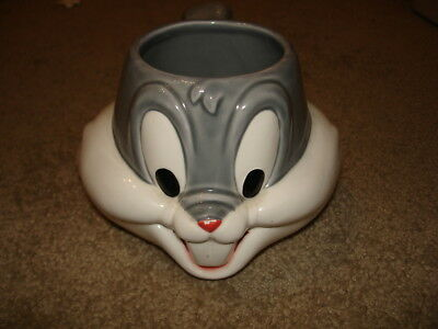 Warner Brothers Looney Tunes Bugs Bunny Ceramic Mug Cup Applause 1992