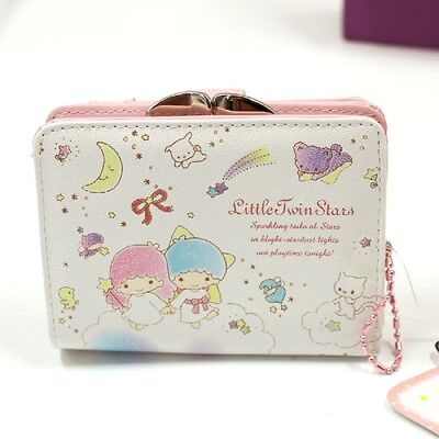 Genuine Sanrio Little Twin Stars Wallet Hold Coins Paper Bills Credit Cards NWT