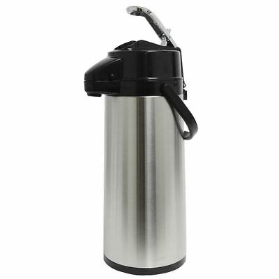 American Glass Stainless Steel Lined Lever-Action 2.2 Liter Airpot APS25S