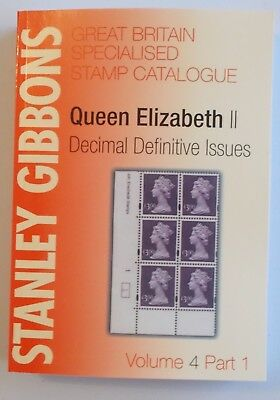 Stanley Gibbons Great Britain Specialised Stamp Catalogue Volume 4 Part 1