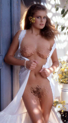 1983 Playboy Magazine Playmate Rare CARINA PERSSON Promo Poster 18x36 NEW