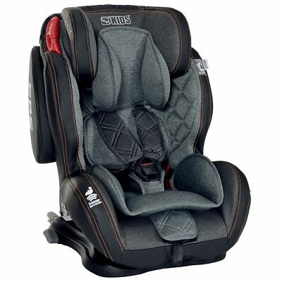 Siège Auto Bebe Isofix 9-36 kg Groupe 1 2 3 Enfant | Inclinable Harnais 5 points