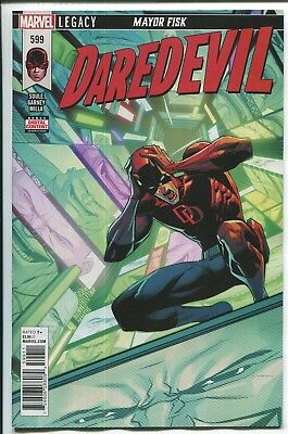 Daredevil #599 - Dan Mora Cover - Ron Garney Art - Marvel Comics/2018