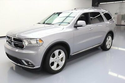2014 Dodge Durango Limited Sport Utility 4-Door 2014 DODGE DURANGO LIMITED SUNROOF NAV REAR CAM 35K MI #597526 Texas Direct Auto